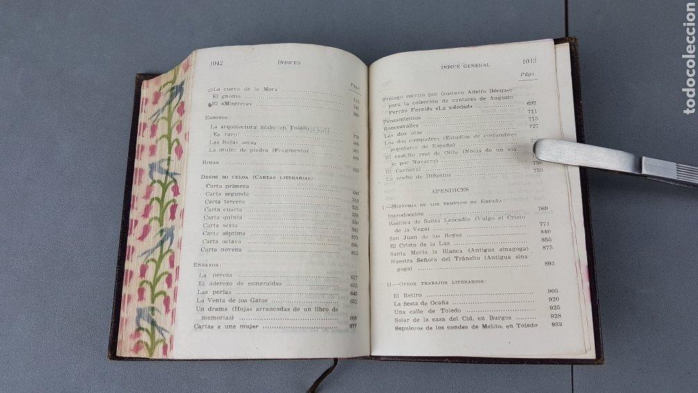 Libros de segunda mano: OBRAS COMPLETAS DE GUSTAVO ADOLFO BÉCQUER. ED. AGUILAR.5ª EDICIÓN 1946. - Foto 9 - 277076138