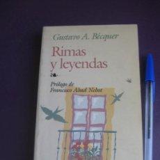Libros de segunda mano: RIMAS Y LEYENDAS - BECQUER - EDAF 1991 - TAPA BLANDA - 364 PAGS - POCO USO. Lote 277087868