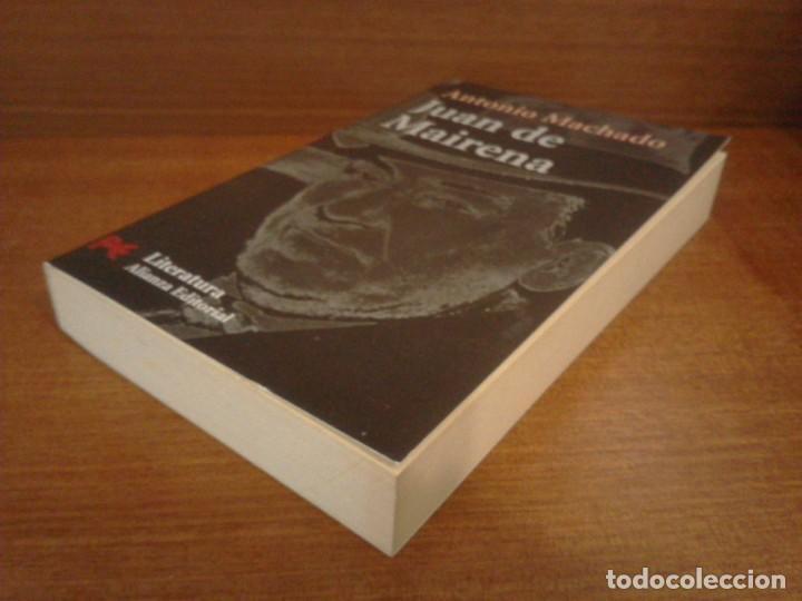 Libros de segunda mano: Antonio Machado - Juan de Mairena: Sentencias, donaires, apuntes y recuerdos - Alianza 2004 (1ª Ed.) - Foto 3 - 277090873