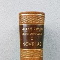 Libros de segunda mano: STEFAN ZWEIG. OBRAS COMPLETAS 1 (I) NOVELAS ED. JUVENTUD. AÑO 1952. PIEL PAPEL BIBLIA. Lote 277102013