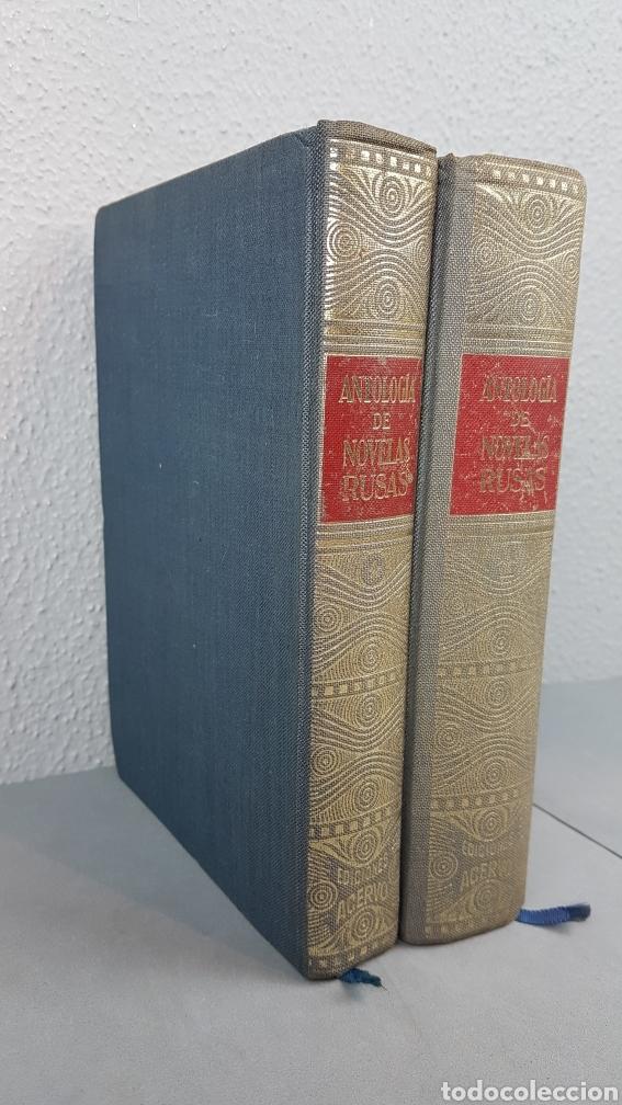 Libros de segunda mano: ANTOLOGIA DE NOVELAS RUSAS. Selección: Jose Antonio Rabella. Edic. Acervo. AÑO 1963 - 65. COMPLETA - Foto 2 - 277102753