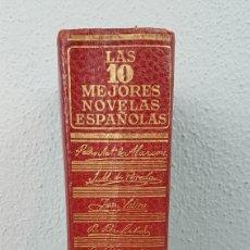 Libros de segunda mano: LAS DIEZ MEJORES NOVELAS ESPAÑOLAS. BARCELONA, EDITORIAL AHR, 1959. PRIMERA EDICIÓN.. Lote 277102843