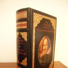 Libros de segunda mano: THE COMPLETE WORKS OF WILLIAM SHAKESPEARE (BARNES & NOBLE, 1994) ED. DE LUJO CON CORTES DORADOS. Lote 277171068
