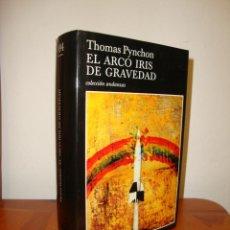 Libros de segunda mano: EL ARCO IRIS DE GRAVEDAD - THOMAS PYNCHON - TUSQUETS - 1ª ED., TAPA DURA, EXCELENTE ESTADO. Lote 277199923