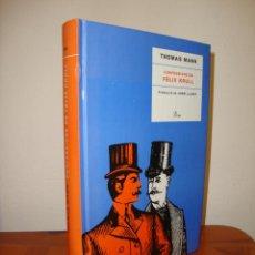 Libros de segunda mano: CONFESSIONS DE FELIX KRULL - THOMAS MANN - PROA, MOLT BON ESTAT. Lote 277202878