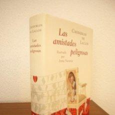 Libros de segunda mano: CHODERLOS DE LACLOS: LAS AMISTADES PELIGROSAS (GALAXIA GUTENBERG, 2009) ED. ILUSTRADA. PERFECTO.. Lote 277255103