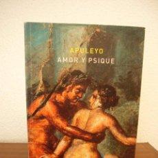 Libros de segunda mano: APULEYO: AMOR Y PSIQUE (ATALANTA, 2014) RARO. Lote 277256088