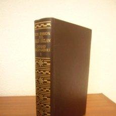Libros de segunda mano: RAMÓN DEL VALLE-INCLÁN: OBRAS ESCOGIDAS, I (AGUILAR, 1974) PAPEL BIBLIA. INCLUYE MARCAPÁGINAS.. Lote 277260853