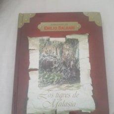 Libros de segunda mano: LIBRO LOS TIGRES DE MALASIA / AVENTURAS DE EMILIO SALGARI / ED. RUEDA 2004.. Lote 277261638