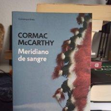 Libros de segunda mano: MERIDIANO DE SANGRE. CORMAC MCCARTHY.. Lote 277283728