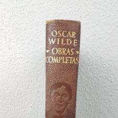 Libros de segunda mano: OSCAR WILDE. OBRAS COMPLETAS. EDITORIAL AGUILAR, MADRID (1954), QUINTA EDICIÓN.. Lote 277526683