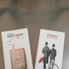 Libros de segunda mano: CLÁSICOS ESPAÑOLES. LIBRO DEL BUEN AMOR Y FABULAS. Lote 277588453