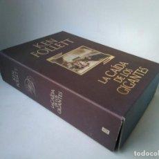 Libros de segunda mano: KEN FOLLETT. LA CAÍDA DE LOS GIGANTES. EDICIÓN ESPECIAL CON CAJETÍN. Lote 277845978
