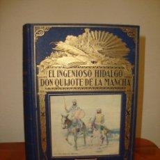 Libros de segunda mano: EL INGENIOSO HIDALGO DON QUIJOTE DE LA MANCHA - CERVANTES - SOPENA, 1940, EXCELENTE ESTADO. Lote 277852523