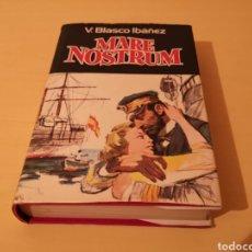 Libros de segunda mano: MARE NOSTRUM VICENTE BLASCO IBAÑEZ 1A EDICIÓN 1977 PLAZA & JANES. Lote 278431263