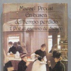Libros de segunda mano: 1989.- 1. POR EL CAMINO DE SWANN. EN BUSCA DEL TIEMPO PERDIDO. PROUST. TOMO I. AGUILAR. Lote 278450158