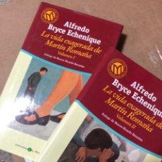 Libros de segunda mano: COMPLETA: LA VIDA EXAGERADA DE MARTIN ROMAÑA - ALFREO BRYCE ECHENIQUE - 2 TOMOS. Lote 284632148