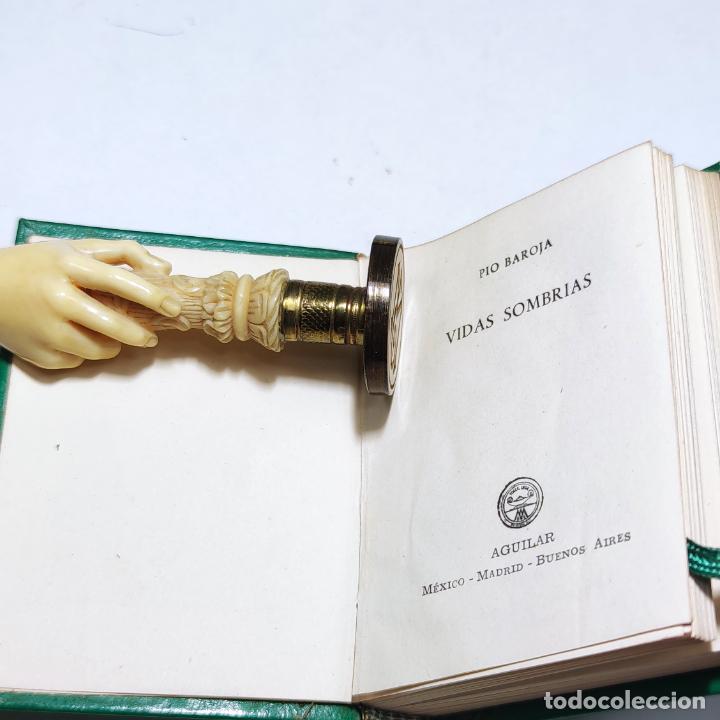 Libros de segunda mano: Pio Baroja. Vidas Sombrías. Crisolín nº 13. Aguilar. Col. Crisol. 1ª edición. 1958. - Foto 2 - 285126718