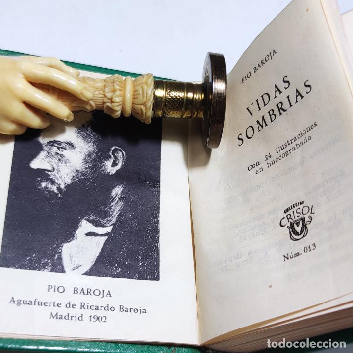 Libros de segunda mano: Pio Baroja. Vidas Sombrías. Crisolín nº 13. Aguilar. Col. Crisol. 1ª edición. 1958. - Foto 3 - 285126718