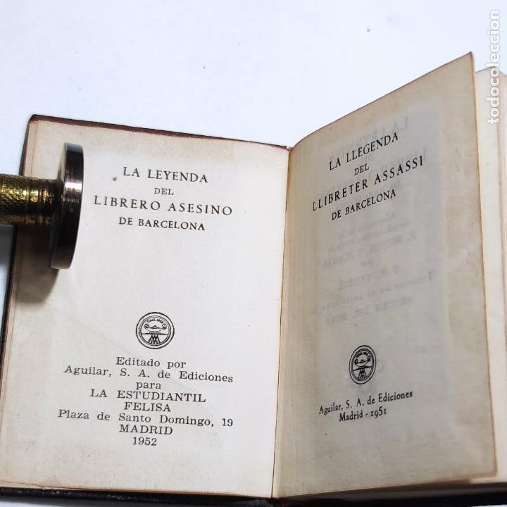 Libros de segunda mano: R. Miquel y Planas. La leyenda del librero asesino de Barcelona. Crisolín nº 05. 1ª edición. 1951. - Foto 2 - 285128228