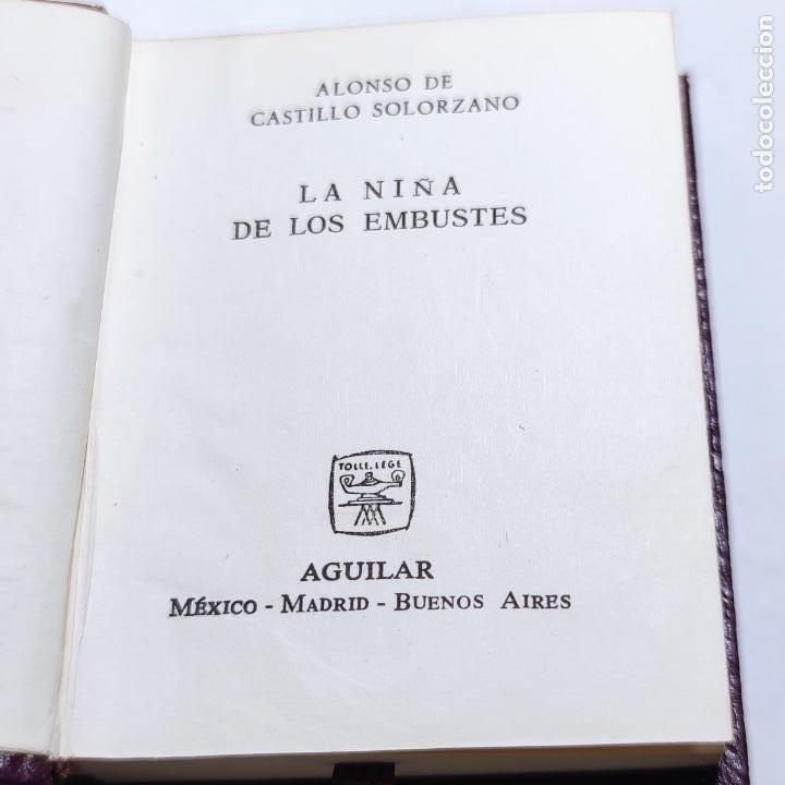 Libros de segunda mano: Alonso de Castillo Solorzano. La niña de los embustes. Crisolín nº 21. 1ª edición. 1964. - Foto 2 - 285128693
