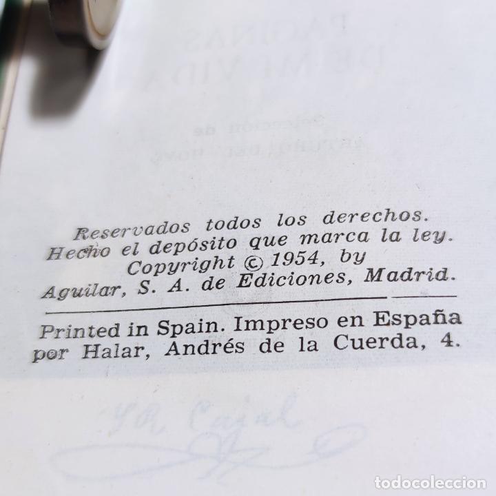 Libros de segunda mano: Páginas de mi vida. Santiago Ramón y Cajal. Crisolín nº 08. 1ª edición. 1954. - Foto 4 - 285129778