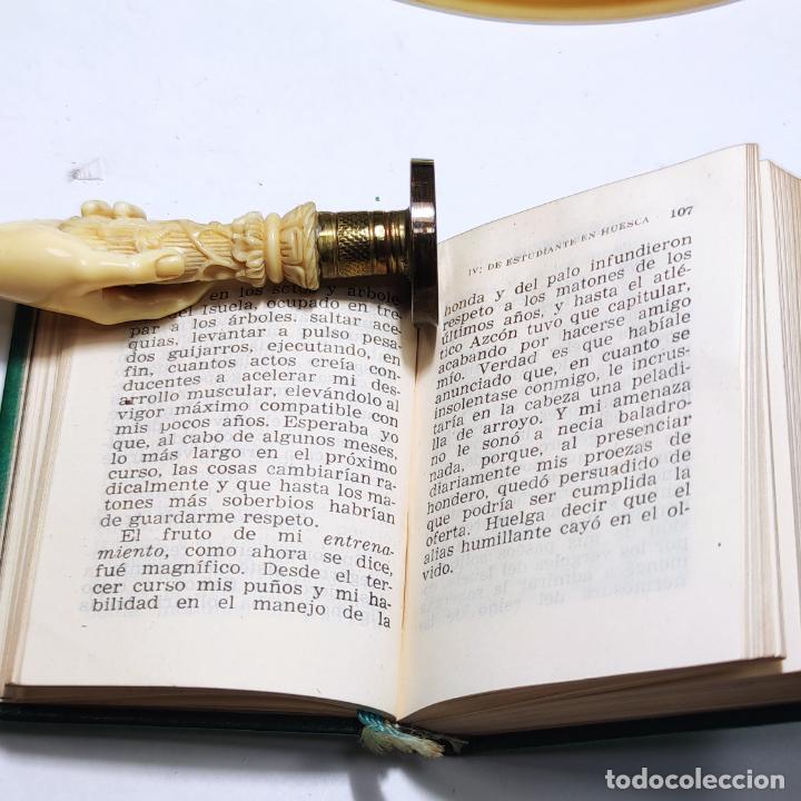 Libros de segunda mano: Páginas de mi vida. Santiago Ramón y Cajal. Crisolín nº 08. 1ª edición. 1954. - Foto 5 - 285129778