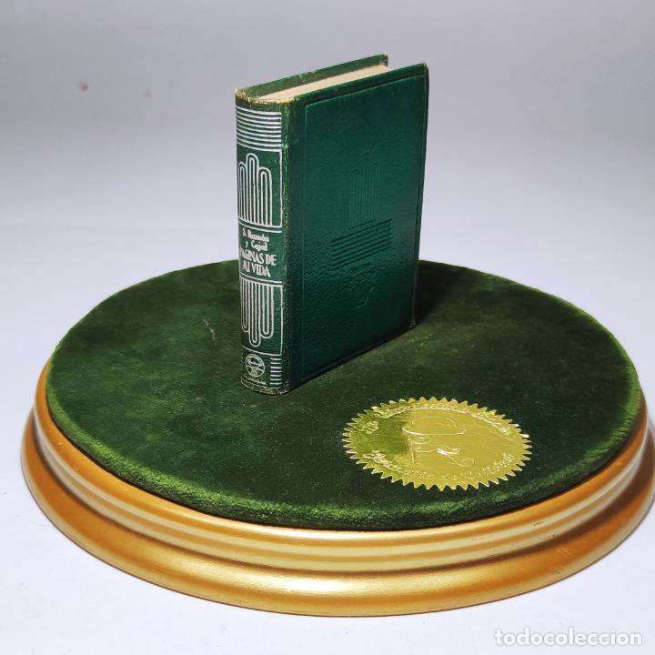 PÁGINAS DE MI VIDA. SANTIAGO RAMÓN Y CAJAL. CRISOLÍN Nº 08. 1ª EDICIÓN. 1954. (Libros de Segunda Mano (posteriores a 1936) - Literatura - Narrativa - Clásicos)