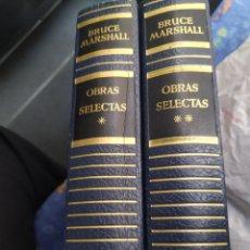 Libros de segunda mano: OBRAS SELECTAS BRUCE MARSHALL CON ILUSTRACIONES DE RIU SERRA GIRONA PICÓN Y BALANCÁN 1957. Lote 286009758