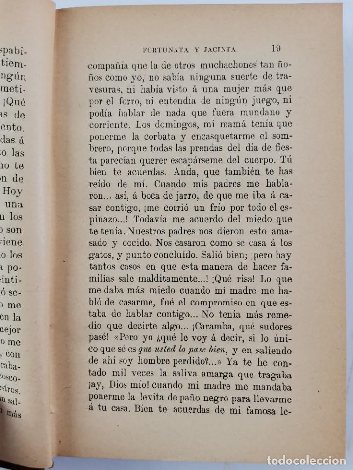 Libros de segunda mano: L-3484. FORTUNATA Y JACINTA, B.PEREZ GALDOS. 2 TOMOS. 1915-16. - Foto 3 - 286816948
