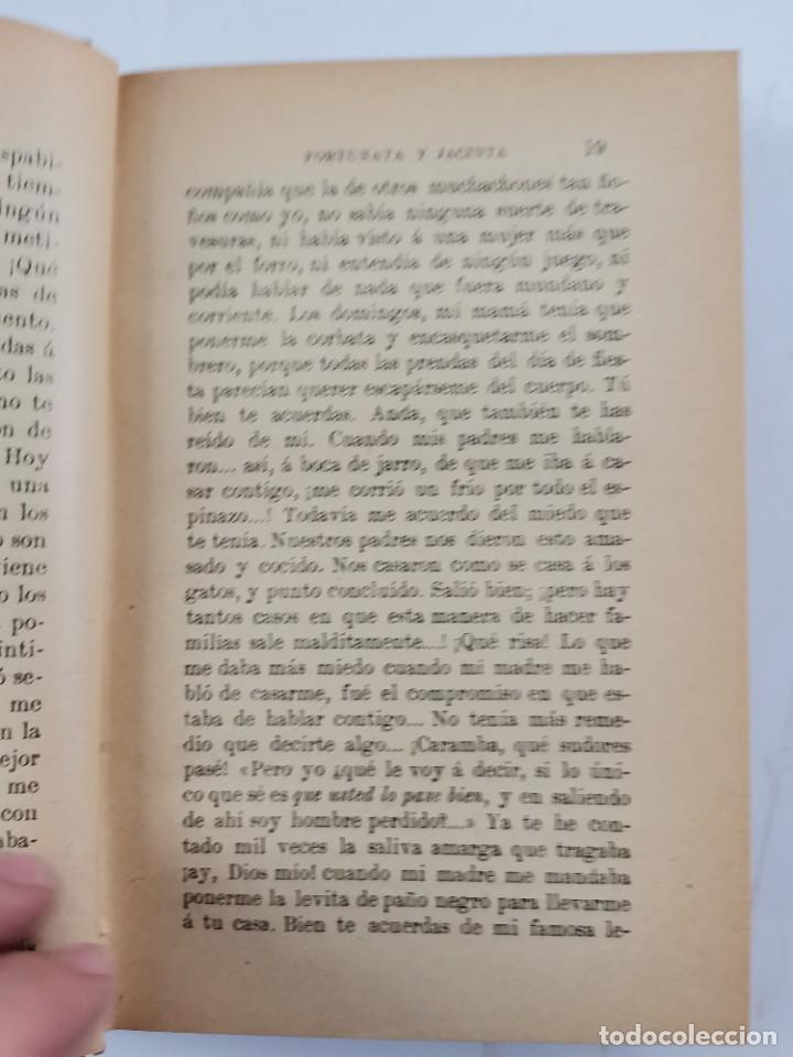 Libros de segunda mano: L-3484. FORTUNATA Y JACINTA, B.PEREZ GALDOS. 2 TOMOS. 1915-16. - Foto 4 - 286816948