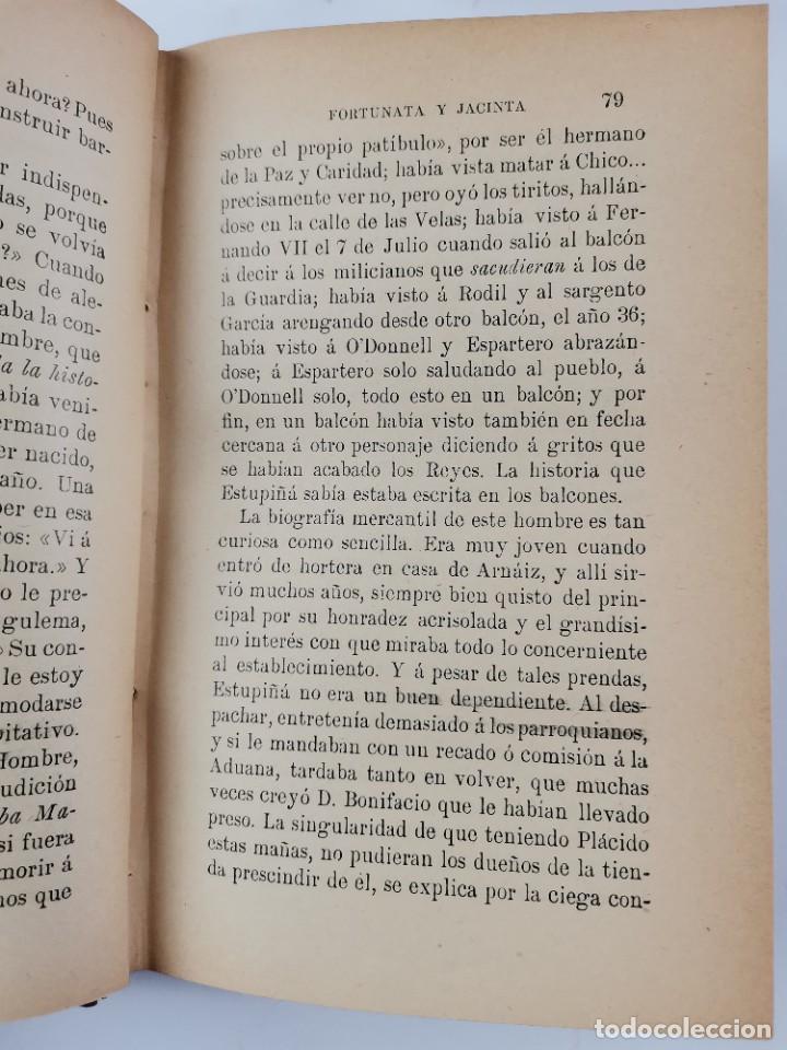 Libros de segunda mano: L-3484. FORTUNATA Y JACINTA, B.PEREZ GALDOS. 2 TOMOS. 1915-16. - Foto 5 - 286816948