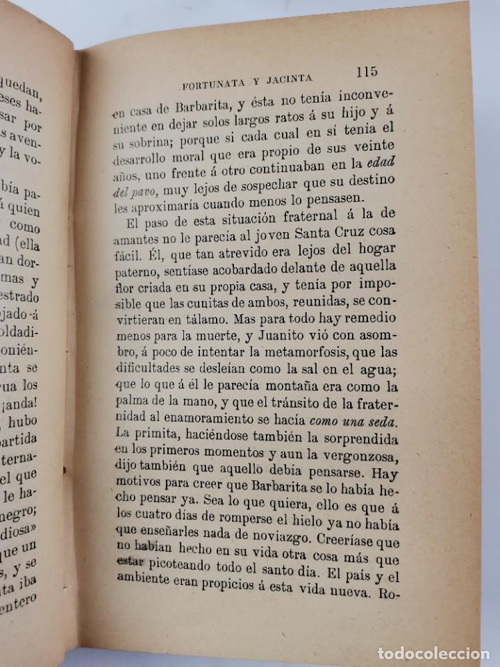 Libros de segunda mano: L-3484. FORTUNATA Y JACINTA, B.PEREZ GALDOS. 2 TOMOS. 1915-16. - Foto 6 - 286816948