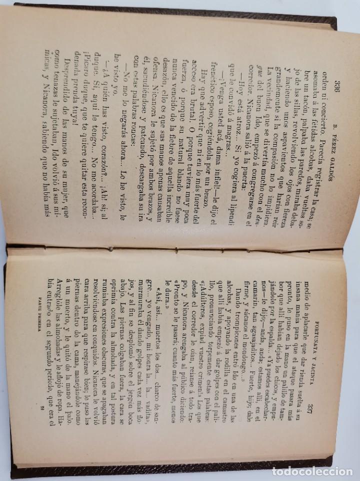 Libros de segunda mano: L-3484. FORTUNATA Y JACINTA, B.PEREZ GALDOS. 2 TOMOS. 1915-16. - Foto 9 - 286816948