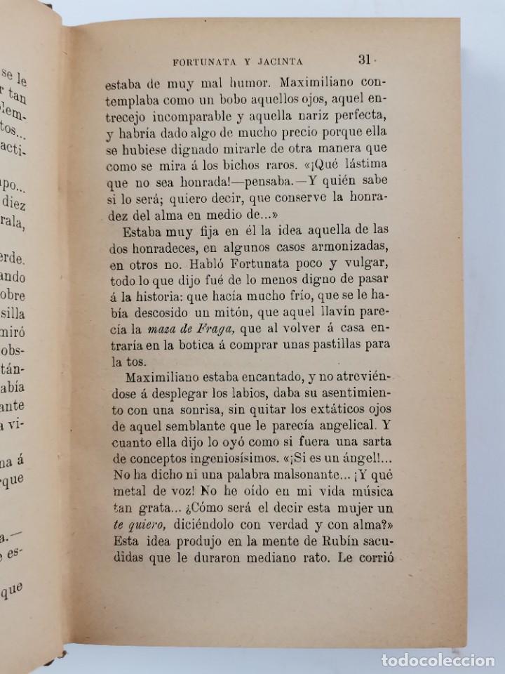 Libros de segunda mano: L-3484. FORTUNATA Y JACINTA, B.PEREZ GALDOS. 2 TOMOS. 1915-16. - Foto 11 - 286816948