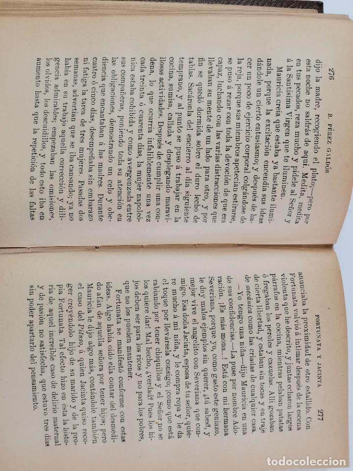 Libros de segunda mano: L-3484. FORTUNATA Y JACINTA, B.PEREZ GALDOS. 2 TOMOS. 1915-16. - Foto 14 - 286816948