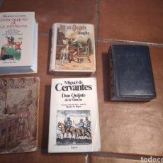 Libros de segunda mano: VARIAS EDICIONES DE EL QUIJOTE CERVANTES. Lote 286836963