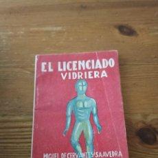 Libros de segunda mano: CERVANTES. EL LICENCIADO VIDRIERA. COL VELETA. N.27. Lote 286980333