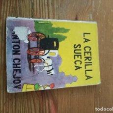 Libros de segunda mano: CHEJOV. LA CERILLA SUECA. COL PANDORA N.13. Lote 286980533