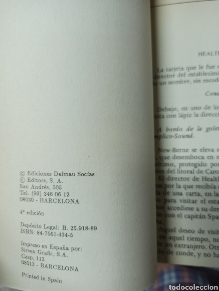 Libros de segunda mano: COLECCIÓN COMPLETA CON 15 LIBROS NOVELAS DE JULIO VERNE - EDICIONES DALMAU SOCÍAS - EDITORS AÑO 1989 - Foto 4 - 287642818
