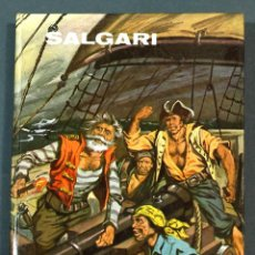Libros de segunda mano: EMILIO SALGARI. CABEZA DE PIEDRA. Nº 17 COL. SALGARI. ED. GAHE. 1975. MUY BUEN ESTADO.. Lote 287887698