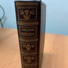 Libros de segunda mano: SONETOS. WILLIAM SHAKESPEARE.MONTANER Y SIMON. BARCELONA 1944.. Lote 287891113
