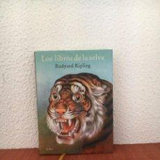 Libros de segunda mano: LOS LIBROS DE LA SELVA - RUDYARD KIPLING - ALBA. Lote 287898748