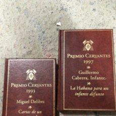 Libros de segunda mano: LOTE DELIBES Y GUILLERMO CABRERA CARTAS SEXAGENARIO VOLUPTUOSO Y HABANA INFANTE DIFUNTO. Lote 287906198