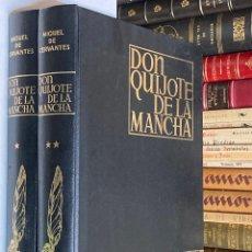 Libros de segunda mano: AÑO 1980 - DON QUIJOTE DE LA MANCHA POR MIGUEL DE CERVANTES 2 TOMOS ILUSTRADO POR SEGRELLES. Lote 288082498