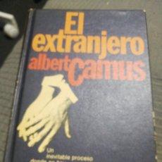 Libros de segunda mano: EL EXTRANJERO. ALBERT CAMUS.. Lote 288114958