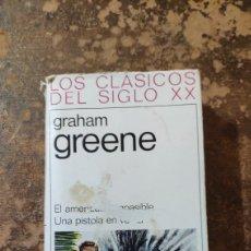 Libros de segunda mano: EL AMERICANO IMPASIBLE... (GRAHAM GREENE) (LOS CLÁSICOS DEL SIGLO XX) (PLAZA & JANES). Lote 288117823