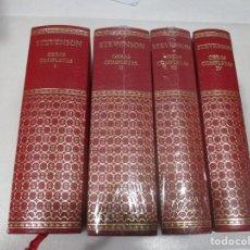 Libri di seconda mano: RIBERT LOUIS STEVENSON OBRAS COMPLETAS (4 TOMOS) W9395. Lote 288458723