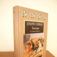 Libros de segunda mano: JOSEPH CONRAD: NOSTROMO (VALDEMAR, AVATARES, 2003) PERFECTO. PRIMERA EDICIÓN.. Lote 288511773