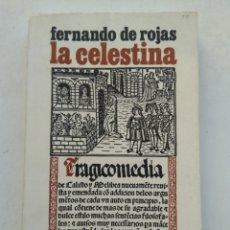 Libros de segunda mano: LA CELESTINA/FERNANDO DE ROJAS. Lote 288584013